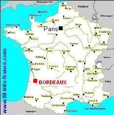 Ville De Bordeaux Carte